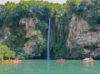 canoe cascade